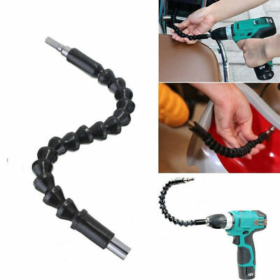 Black 295 mm Flexible Shaft Bits Extention Screwdriver Bit Holder Connect Link