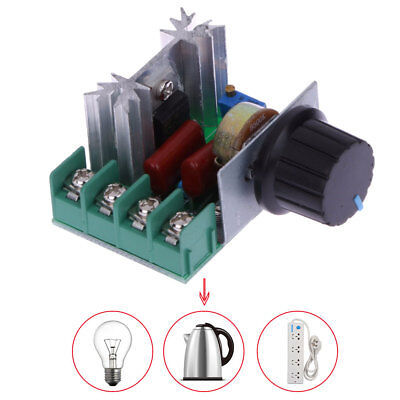 2000W SCR Silicon Controlled Rectifier Brightness Speed Temperature Controller