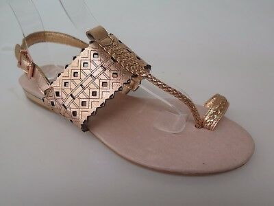 Django & Juliette - new ladies leather sandal size 37 #56