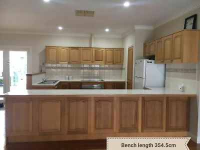 used timber kitchen