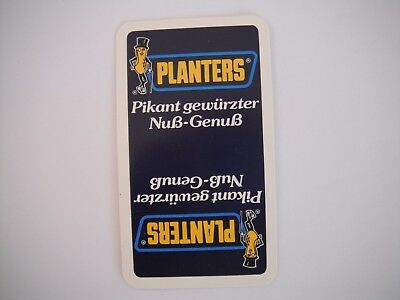 """Vintage Planters """"MR PEANUT"""" 36 card deck from Germany"""