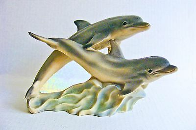 Dolphins Sculpture Nautical Figurine Marine Mammals United Design Company