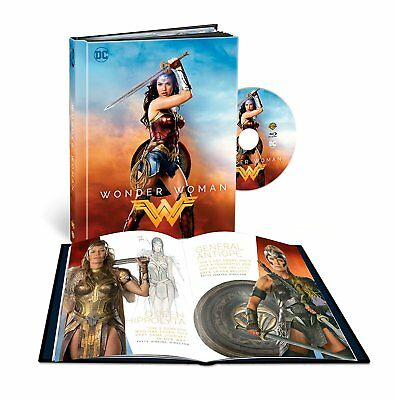 Wonder Woman - Filmbook (Blu-ray) 2017 film Gal Gadot & Chris Pine
