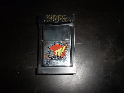 Zippo Gold Wing Road Riders 1977 GWRRA Motorcycle Lighter Sealed