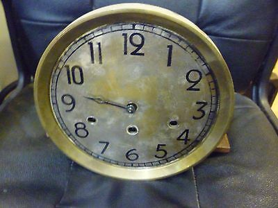 Original 1930s Longcase Grandfather Clock Spring Driven Chimeing Movement+Dial(1