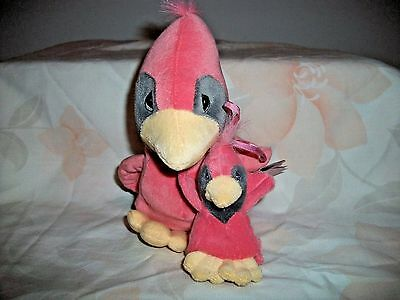 Enesco Precious Moments Plush Tender Tails Pink Bird And Baby