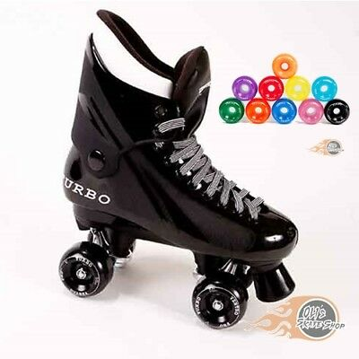 Ventro Pro Turbo Quad Roller Skates, Bauer Style - Ventro Wheels All Colours