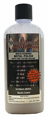 White Diamond Metal Polish & Long Lasting Sealant 355ml Made in USA