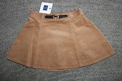 Janie and Jack Baby Girls Brown Skirt - Size 12-18 Months - NWT