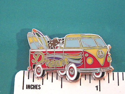 VW Volkswagen DREAM in single cab - hat pin , lapel pin , tie tac GIFT BOXD