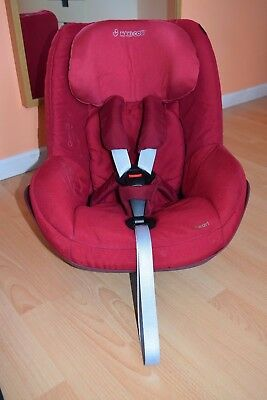 Maxi Cosi Pearl Car Seat in Robin Red *great condition*