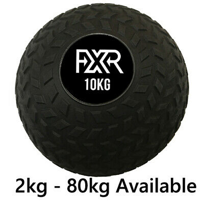 New Fxr Sports Commercial Tyre Non Bounce Slam Ball Crossfit Mma Boxing 2Kg-80Kg