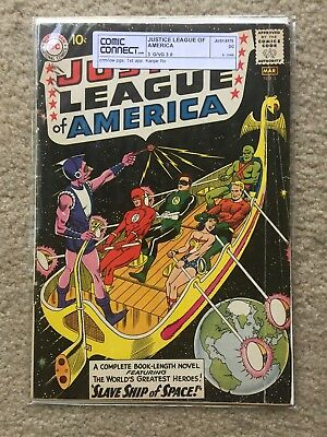 Justice League of America #3 3.0 G/VG ComicConnect not CGC