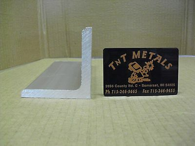 "1/4"" Aluminum Angle 3"" x 3"" x 12"" long Structural 6061 Mill Finish"