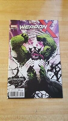 Weapon X #8 Venomized Weapon H Variant NM and Awesome! Greg Land