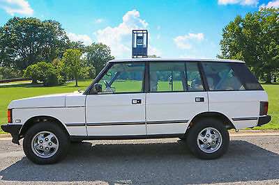 1994 Land Rover Range Rover LWB 1994 Land Rover Range Rover County Classic LWB NO RESERVE