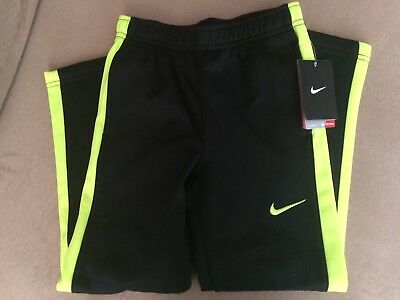 Nike Boys' Size 4 Black Polyester Therma-Fit Long Pants - NWT