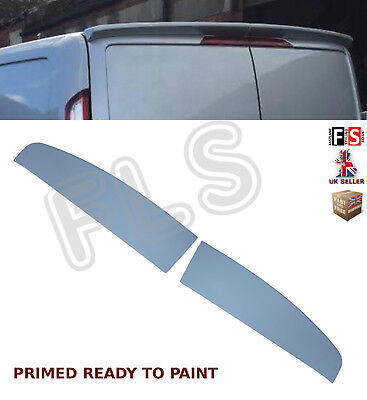 Ford Transit Custom Twin Barn Door Rear Roof Boot Spoiler  Oem Fit Style 12+
