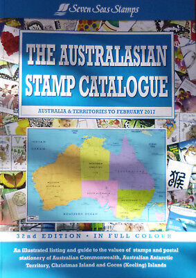 SEVEN SEAS 2017 AUSTRALASIAN STAMP CATALOGUE 32nd Edition **COLOUR**