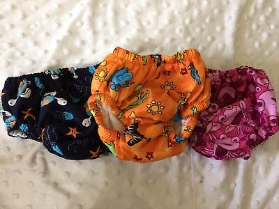 Assorted Brand Swim Diapers Size Small