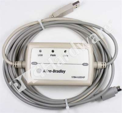 Allen Bradley 1784-U2DHP Series A 2016 USB-to-Data Highway+ Adapter Cable 2.44m