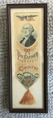 Washington sampler - needlepoint -petit point -The Father of His Country