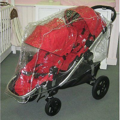 Sasha's Rain/Wind Cover Baby Jogger City Select Double  - Stroller not included