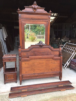 Antique French Bedroom Suite- JUST IN