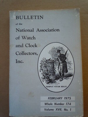 NAWCC Bulletin #174. Wood Movement Timepieces A. Bruce Burns