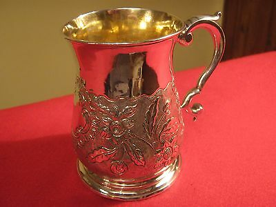 Rare George Ii 1746 Exeter Provincial Solid Silver Half Pint Tankard.investment