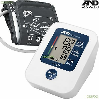 A&D Medical UA-651 Upper Arm Automatic Blood Pressure Monitor with SlimFit Cuff
