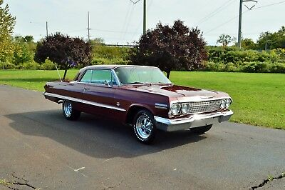1963 Chevrolet Impala SS CHEVY IMPALA SS 409 NUMBERS MATCHING RARE OPTIONS CAR TRUCK MUSCLE