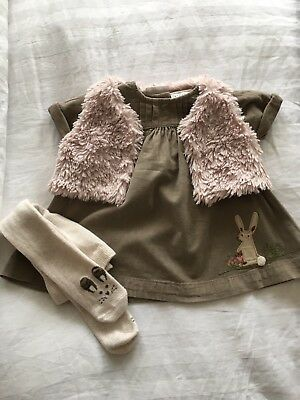 Next Baby Girls  3 Piece Outfit 3-6 Months Great For Winter