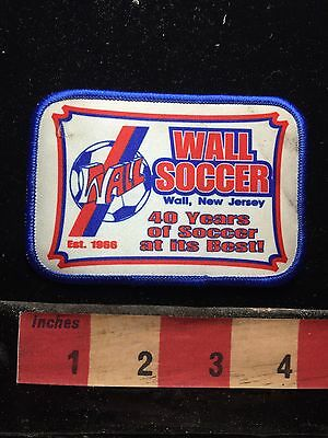Wall New Jersey Soccer Patch 74K7