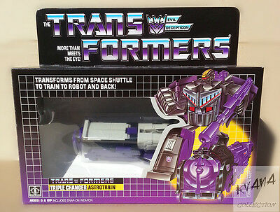 Transformers Reissue G1 TRIPLE CHANGER 『ASTROTRAIN』MISB