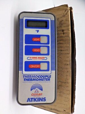 Atkins Thermocouple thermometer Works