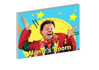 MR TUMBLE b PERSONALISED WOODEN DOOR PLAQUE