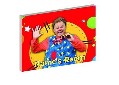 MR TUMBLE c PERSONALISED WOODEN DOOR PLAQUE