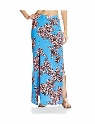MINKPINK Women's Living In Lilac Split-Front Maxi Skirt Cover-Up Multi Small