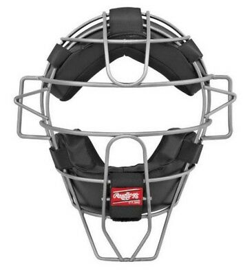 Rawlings Catcher Umpire Intermediate Facemask Helmet Lightweight Mask LWMXTI-B
