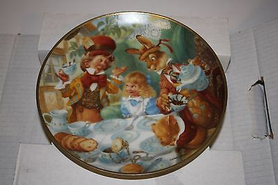 The Mad Tea Party by Scott Gustafson 1993 Plate No.143A Bradford Exchange