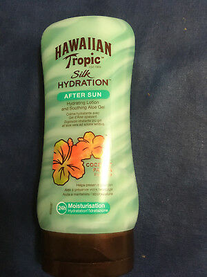 TOP HAWAIIAN TROPIC Silk Hydration After Sun Lotion, 180 ml NEU + OVP
