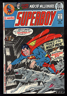 Superboy (1949) #180 First Print Bouncing Boy Origin Prince of the Wolf Pack NM-