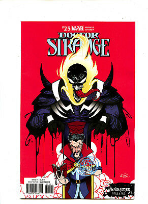 Doctor Strange #25 (2017) Marvel NM/NM- Venomized Villain Variant