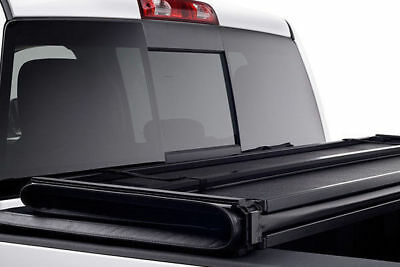 Ford Ranger T6 Hawk Hard Tri Fold Tonneau Cover Bed Cover Fits with Ladder Rack