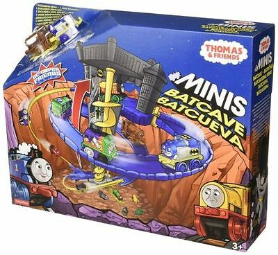 Genuine Fisher-Price Thomas & Friends Minis Batcave - Brand New Sealed In Box