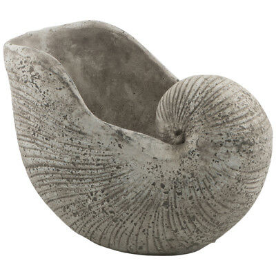 NEW Raw Natural Cement Shell Planter Lifestyle Traders Planters