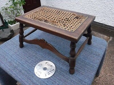 Vintage Wooden Foot  Stool.  Free  Delivery.