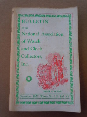 "NAWCC Bulletin #161-""Torrington Clocks"" East-West Movements"
