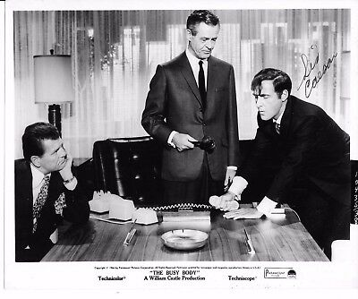 The Busy Body Sid Caeser Autographed Press Kit Photo